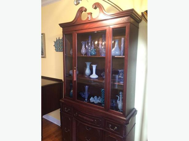 Refinished Antique Hutch (Display Cabinet)