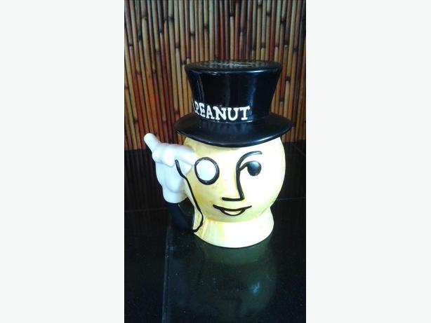 PLANTERS MR PEANUT Head Cookie Jar