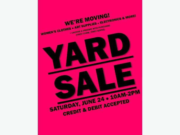 Moving Sale! - Women's Clothes, Art Supplies, Electronics, Video Games & More