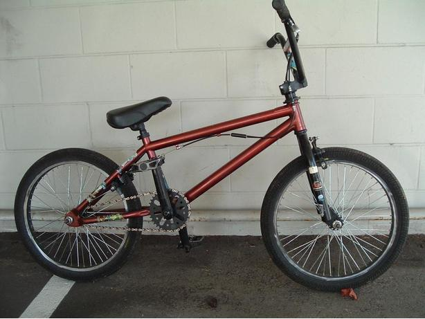 higher end Haro bmx bike
