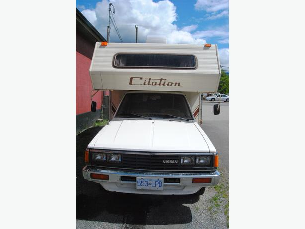 1984 Nissan Citation Motorhome (Hope,BC)