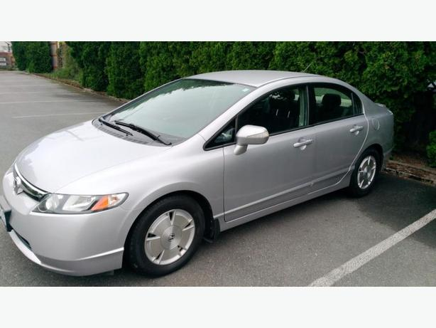 2007 Honda Civic Hybrid (Great Gas Mileage,Low KM,Extended Warranty)