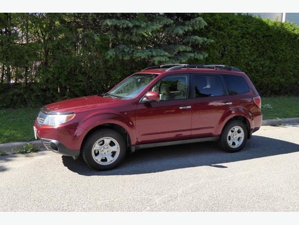 2010 Subaru Forester 2.5 X Limited w/ Technology Package
