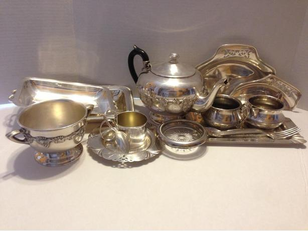 Collection of Silverware