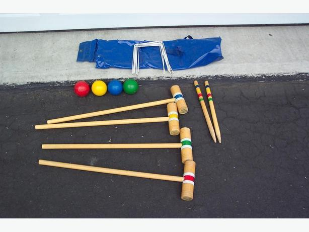 4-Player Youth Croquet Set