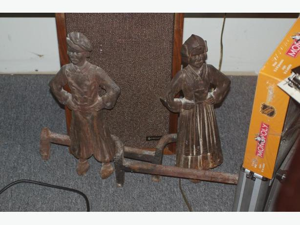 Marvelous Fireplace Fixtures Fireplace Dutch Boy Girl Andirons Beutiful Home Inspiration Xortanetmahrainfo