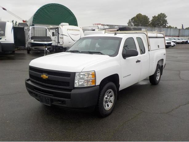 2013 Chevrolet Silverado 1500 Work Truck Extended Cab 4WD w/ Canopy