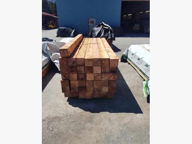 [ON SALE] CEDAR FENCE POST ON SALE 6x6