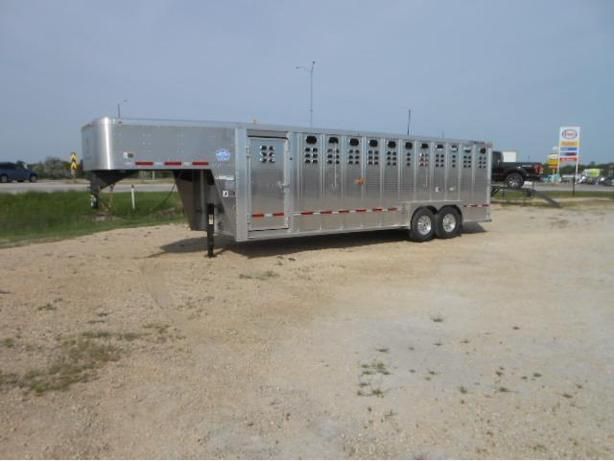 2018 Wilson 24 PSGN Ranch Hand Stock Trailer HH4151