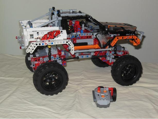 lego 4x4 crawler instructions