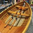 13.5' Gartside Clinker Rowboat