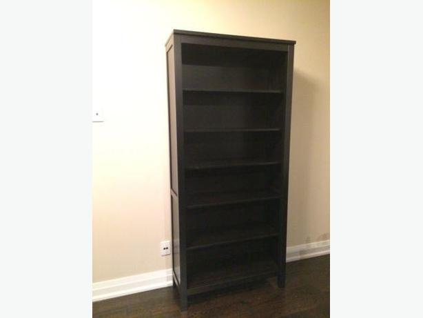 IKEA HEMNES BLACK BOOKCASE