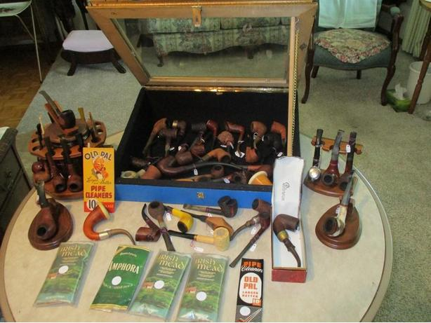 GRAMPAS ESTATE COLLECTION OF PIPES