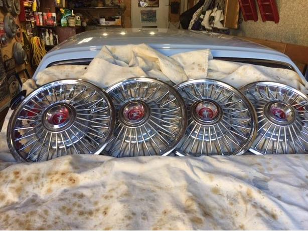 1967 Ford Mustang Hubcaps Victoria City Victoria