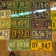 ESTATE COLLECTIONS OF LICENCE PLATES
