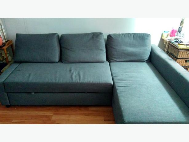 Sofa/bed and storage combo
