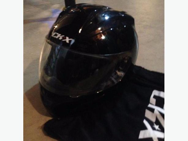 Full face shield motor sport helmet