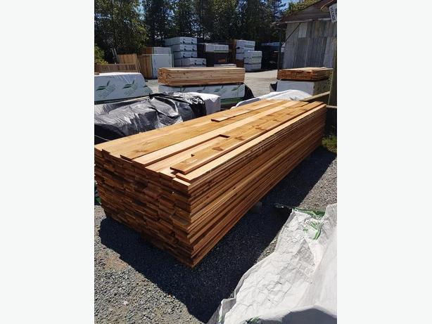Rough Western Red Cedar 1x6