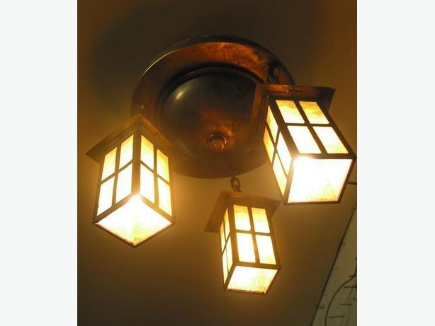 Arts & Crafts Light Fixture