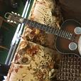 Dobro Guitar, Square Grand Piano, CB Radio, Model House Frame
