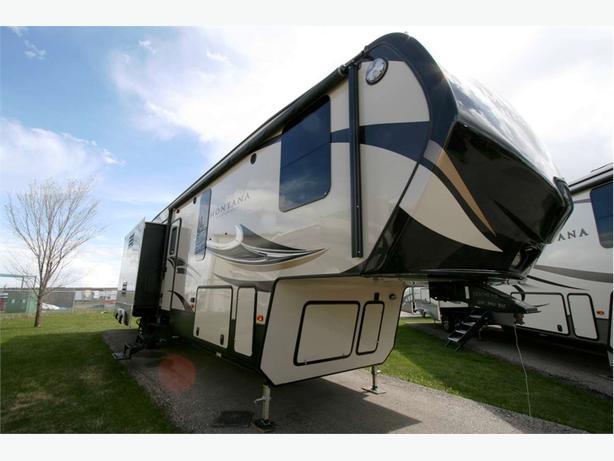 2017 KEYSTONE RV MONTANA HIGH COUNTRY 340BH