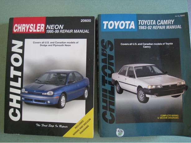 Chiltons Clymer manuals