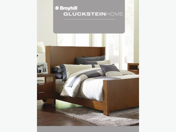 SEARS QUEEN BED SET - 5 Piece (Hudson Bay) with Mattress
