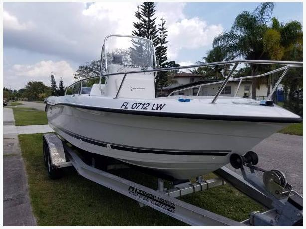 2002 Center Console Seaswirl
