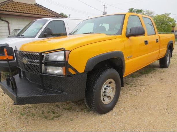 2006 CHEVROLET SILVERADO 3500 4X4 CREW CAB LONG BOX