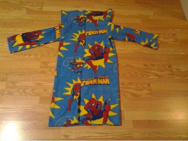 2 Like New Spiderman Blankets Housecoats -  $10 each