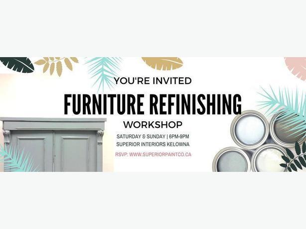 Furniture Refinishing Workshops