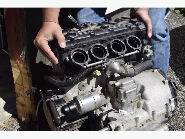 PARTS SUZUKI 2008 GSXR 600 ENGINE FOR PARTS