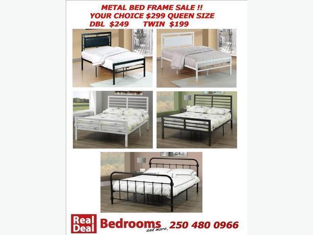 Bed Frame Sale Metal Platform Beds From 199 Victoria