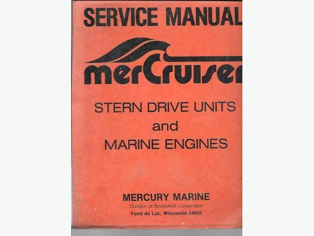 MerCruiser service manual
