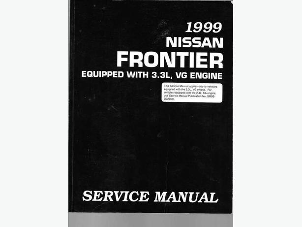 1999 Nissan Frontier manual