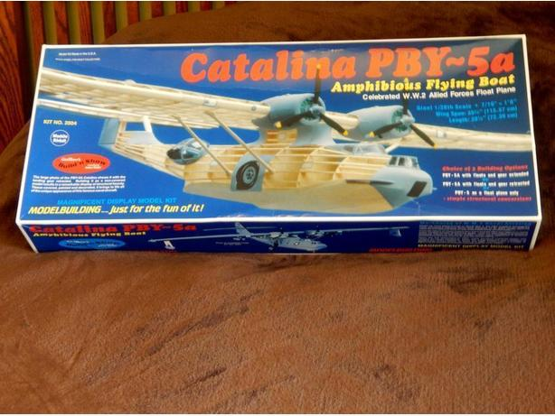 Catalina PBY-5a Amphibious Flying Boat Model Kit - Challenging!