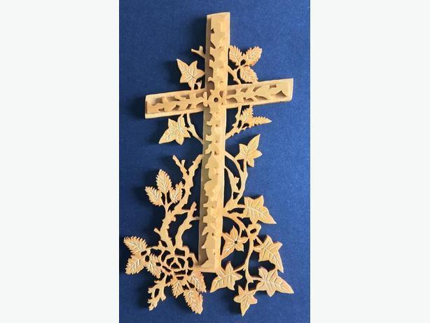 Double Cross Plaque