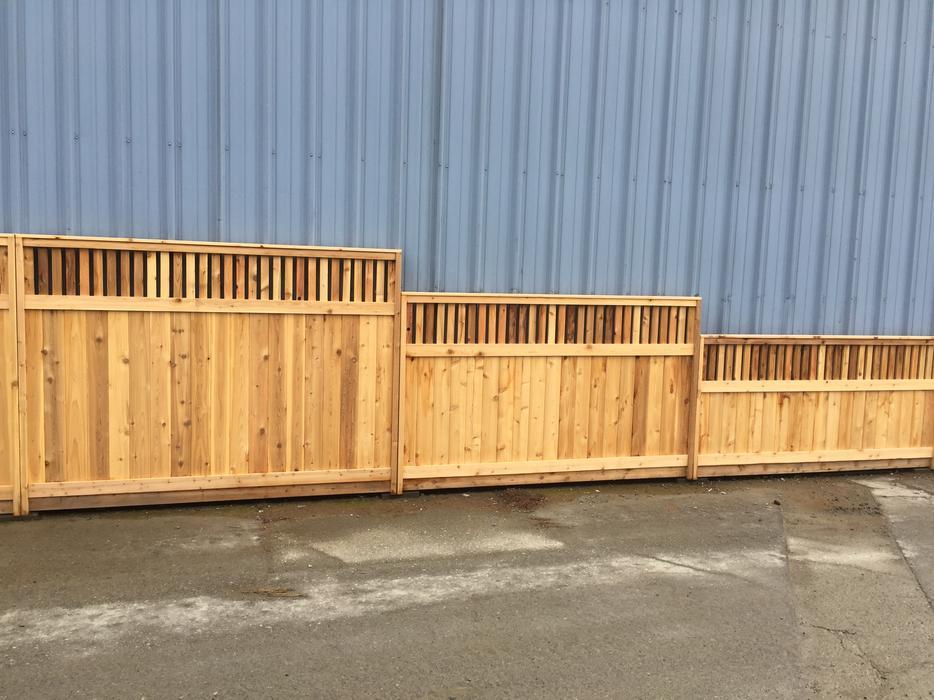 Sale Starting At 89 99 Thickest Cedar Fence Panel
