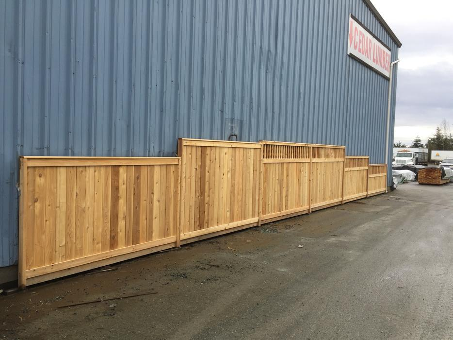 Sale Thickest Cedar Fence Panel Starting At 70 00 South
