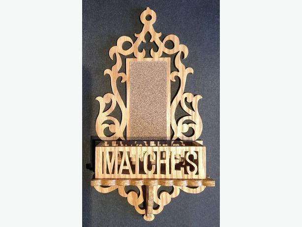 Wooden Matches Holder