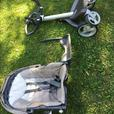 2007 Stokke Explory Stroller Plus Attachments