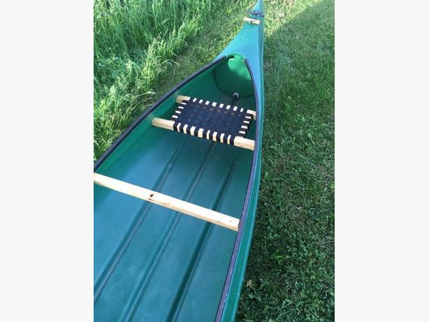 16 ft pioneer canoe