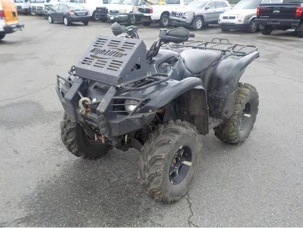 2009 Yamaha Grizzly 700 4WD ATV
