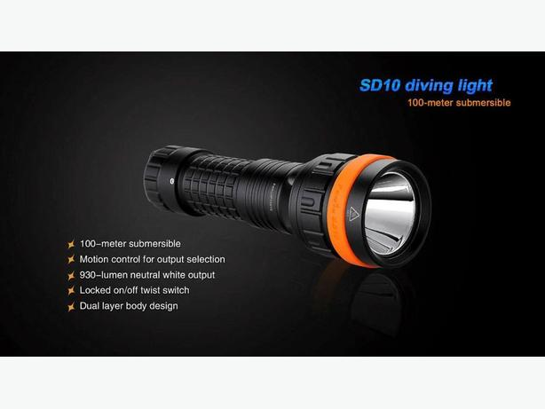 Fenix Diving Lights - Blowout prices too low to list!
