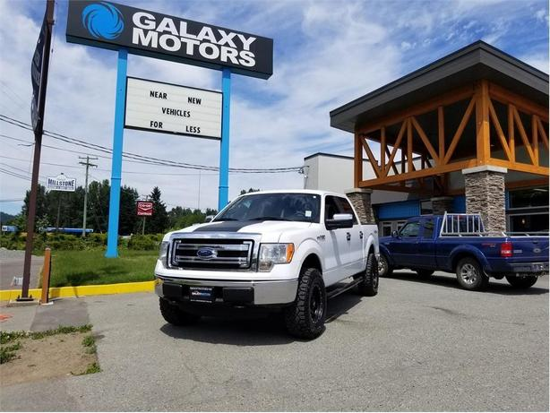 2013 Ford F-150 XLT Crew Cab 5.0L V8 Short Box - 4WD
