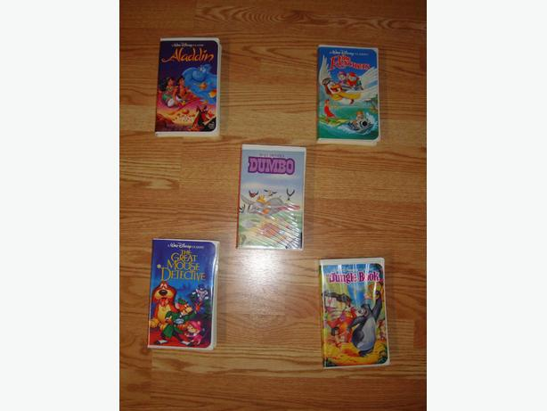 Original Black Diamond Classics Walt Disney VHS Movies Starting at $25 / lot