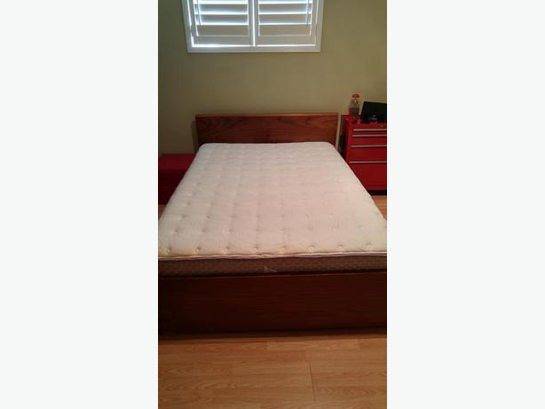 Double bed with Storage Drawer