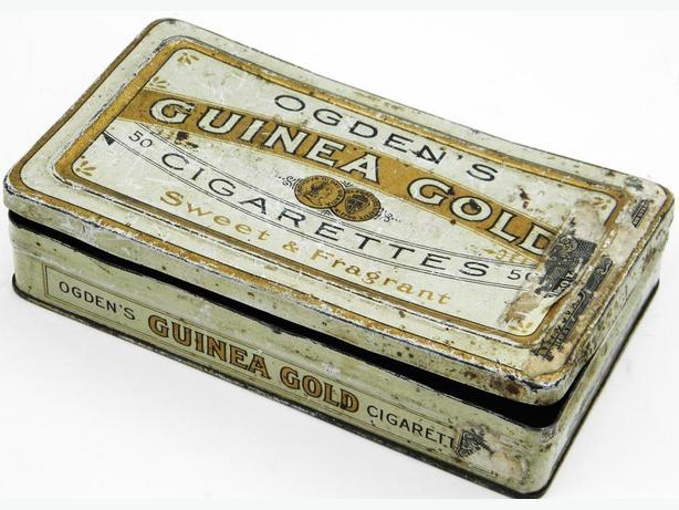 Vintage Tin Box Ogden's Guinea Gold Canadian
