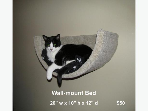 Wall-mounted cat bed. New!