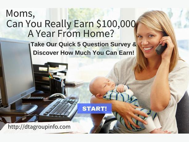 Stay at Home Mom's - Find Out!